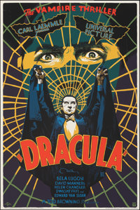 "Dracula (Mondo, 2018). Rolled, Very Fine+. Hand Numbered Limited Edition Screen Print Poster (24"" X 36""). Fran..."