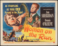 "Movie Posters:Film Noir, Woman on the Run (Universal International, 1950). Rolled, Very Fine-. Half Sheet (22"" X 28"") Style A. Film Noir.. ..."