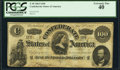 Confederate Notes:1862 Issues, T49 $100 1862 PF-2 Cr. 348 PCGS Extremely Fine 40.. ...