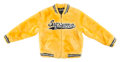 Collectible, Supreme. Faux Fur Varsity Jacket, 2020. Faux fur jacket. Size Large. Produced by Supreme, New York. ...