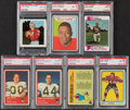 Football Cards:Lots, 1963-73 Football PSA Graded Collection (7)....
