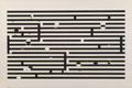 Prints & Multiples, Yaacov Agam (b. 1928). Untitled, late 20th century. Screenprint in colors on card. 25-7/8 x 38-5/8 inches (65.7 x 98.1 c...
