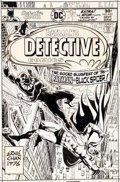 Original Comic Art:Covers, Ernie Chan Detective Comics #463 Cover Batman Original Art (DC Comics, 1976)....