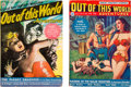 Pulps:Science Fiction, Out of This World Adventures Group (Avon, 1950) Condition: Average FN/VF.... (Total: 2 Items)