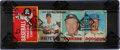 Baseball Cards:Unopened Packs/Display Boxes, Rare 1967 Topps Baseball Rack Pack (2nd Series) - With Mickey Mantle on Front! ...