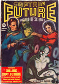 Pulps:Science Fiction, Captain Future - Spring 1940 (Better Publications) Condition: FN....