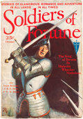 Pulps:Adventure, Soldiers of Fortune - October 1931 (Clayton) Condition: FN+....