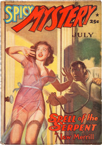 Spicy Mystery Stories - July 1941 (Culture) Condition: FN+