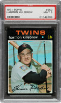Baseball Cards:Singles (1970-Now), 1971 Topps Harmon Killebrew #550 PSA Mint 9 - None Higher....
