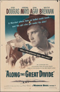 """Movie Posters:Western, Along the Great Divide (Warner Bros., 1951). Folded, Fine+. One Sheet (27"""" X 41""""). Western.. ..."""