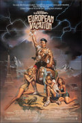 """Movie Posters:Comedy, National Lampoon's European Vacation (Warner Bros., 1985). Folded, Very Fine. One Sheet (27"""" X 40.5""""). Boris Vallejo Artwork..."""
