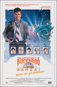 The Adventures of Buckaroo Banzai Across the 8th Dimension (20th Century Fox, 1984). Folded, Fine/Very Fine. One Sheet (...