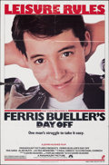 """Movie Posters:Comedy, Ferris Bueller's Day Off (Paramount, 1986). Folded, Fine. One Sheet (27"""" X 41"""") SS. Comedy.. ..."""