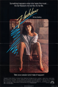 """Flashdance & Other Lot (Paramount, 1983). Folded, Very Fine-. One Sheets (4) (27"""" X 41""""). Musical. ... (To..."""