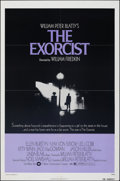 "Movie Posters:Horror, The Exorcist (Warner Bros., 1974). Folded, Very Fine-. One Sheet (27"" X 41""). Horror.. ..."