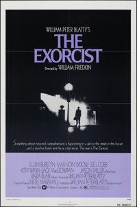 "The Exorcist (Warner Bros., 1974). Folded, Very Fine-. One Sheet (27"" X 41""). Horror"
