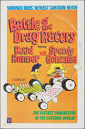 """Movie Posters:Animation, Battle of the Drag Racers (Warner Bros., 1966). Folded, Very Fine-. One Sheet (27"""" X 41""""). Animation.. ..."""