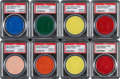 Baseball Cards:Sets, 1959 Armour Baseball Coins PSA-Graded Complete Set (20). ...