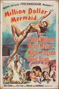 """Movie Posters:Musical, Million Dollar Mermaid (MGM, 1952). Folded, Fine/Very Fine. One Sheet (27"""" X 41""""). Musical.. ..."""