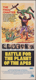 Movie Posters:Science Fiction, Battle for the Planet of the Apes (20th Century Fox, 1973)...