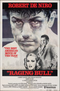 "Movie Posters:Drama, Raging Bull (United Artists, 1980). Folded, Very Fine. International One Sheet (27"" X 41"") Style B. Kunio Hagio Artwo..."