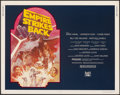 """Movie Posters:Science Fiction, The Empire Strikes Back (20th Century Fox, R-1982). Rolled, Very Fine-. Half Sheet (22"""" X 28""""). Tom Jung Artwork. Science Fi..."""