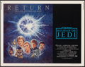 """Movie Posters:Science Fiction, Return of the Jedi (20th Century Fox, R-1985). Rolled, Very Fine. Half Sheet (22"""" X 28""""). Tom Jung Artwork. Science Fiction...."""