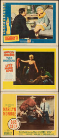 Movie Posters:Drama, Bus Stop & Other Lot (20th Century Fox, 1956). Very Fine-....