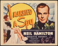 """Movie Posters:Drama, I Married a Spy (Grand National, 1938). Very Fine. Title Lobby Card (11"""" X 14""""). Drama.. ... (Total: 10 Items)"""