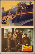 """Movie Posters:War, Twelve O'Clock High & Other Lot (20th Century Fox, 1949). Fine/Very Fine. Lobby Cards (2) (11"""" X 14""""). War.. ... (Total: 2 Items)"""