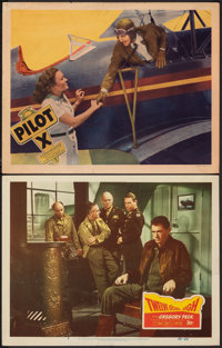 "Twelve O'Clock High & Other Lot (20th Century Fox, 1949). Fine/Very Fine. Lobby Cards (2) (11"" X 14""). War..."