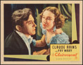 """Movie Posters:Horror, The Clairvoyant (Gaumont, 1935). Very Fine. Lobby Card (11"""" X 14""""). Horror.. ..."""