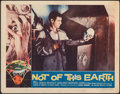 """Movie Posters:Science Fiction, Not of This Earth (Allied Artists, 1957). Fine/Very Fine. Lobby Card (11"""" X 14""""). Science Fiction.. ..."""