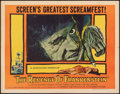 "Movie Posters:Horror, The Revenge of Frankenstein (Columbia, 1958). Folded, Fine+. Half Sheet (22"" X 28""). Horror.. ..."