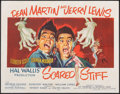 """Movie Posters:Comedy, Scared Stiff (Paramount, 1953). Fine+ on Paper. Half Sheet (22"""" X 28""""). Comedy.. ..."""