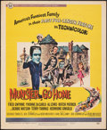 """Movie Posters:Comedy, Munster, Go Home (Universal, 1966). Fine+. Trimmed Window Card (14"""" X 17""""). Comedy.. ..."""