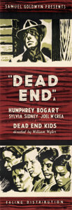 Movie Posters:Crime, Dead End (Ealing, R-1944). Very Fine+ on Linen. Br...