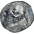 Ancients:Oriental, Ancients: PARTHIAN KINGDOM. Mithradates III (ca. 87-80 BC). AR drachm (21mm, 1h). NGC Choice VF. ...
