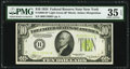 Fr. 2004-B* $10 1934 Light Green Seal Federal Reserve Note. PMG Choice Very Fine 35 EPQ