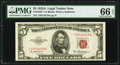 Small Size:Legal Tender Notes, Fr. 1533* $5 1953A Legal Tender Note. PMG Gem Uncirculated 66 EPQ.. ...