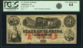 Tallahassee, FL- State of Florida $2 Mar. 1, 1863 Cr. 18 PCGS Very Choice New 64