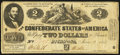 Confederate Notes:1862 Issues, T42 $2 1862 Fine.. ...
