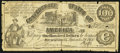 Confederate Notes:1861 Issues, CT13 Counterfeit $100 1861 Very Good.. ...