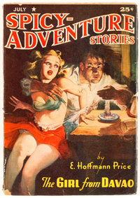 Spicy Adventure Stories - July 1942 (Culture) Condition: FR