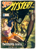 Pulps:Horror, Spicy Mystery Stories - October 1942 (Culture) Condition: VG/FN....