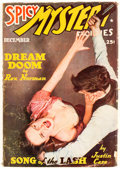 Pulps:Horror, Spicy Mystery Stories - December 1938 (Culture) Condition: Average VG+....