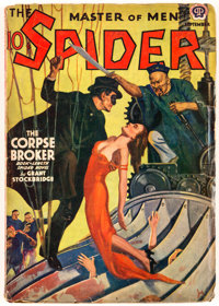 The Spider - September 1939 (Popular) Condition: GD/VG