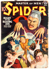 The Spider - April 1939 (Popular) Condition: GD+