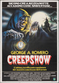 "Movie Posters:Horror, Creepshow (Film 2, 1983). Folded, Very Fine-. Italian 2 - Fogli (39.25"" X 55""). Renato Casaro Artwork. Horror.. ..."