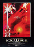 "Movie Posters:Fantasy, Excalibur (Warner - Columbia Film, 1981). Folded, Very Fine. French Grande (47"" X 62.25""). Bob Peak Artwork. Fantasy...."